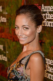Nicole Richie was positively radiant with natural makeup and a textured updo.