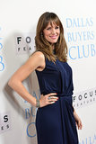 Jennifer Garner wore a blue dress to the Dallas Buyers Club premiere.