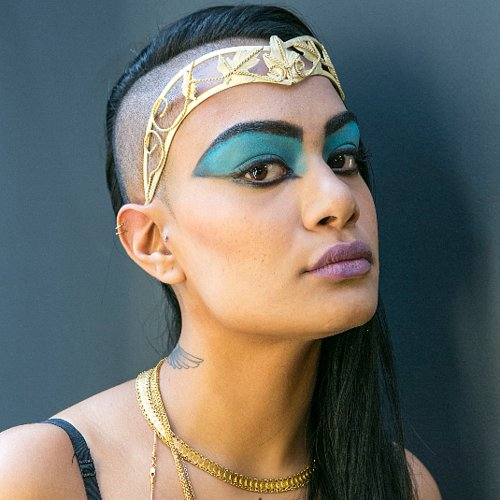 Cleopatra Halloween Makeup Tutorial