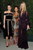 Norah Weinstein, Nicole Richie, and Kelly Meyer Patricof struck a pose at the Annenbeg Gala.