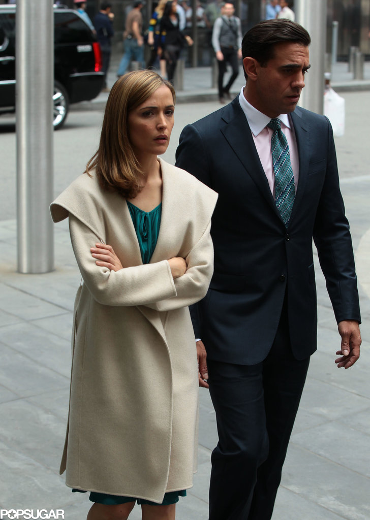 Rose Byrne and Bobby Cannavale teamed up to film more scenes from Annie on Thursday in NYC.
