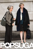 Cynthia Nixon and Diane Keaton paired together to film Life Itself on Monday in NYC.