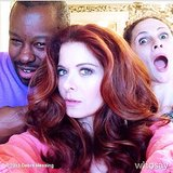 Ted Gibson sure did a fantastic job on Debra Messing's hair, huh? Source: Instagram user tedgibsonbeauty