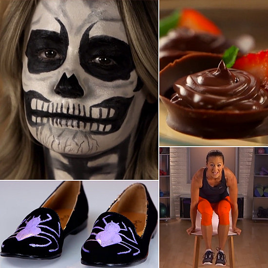 Spider Loafers, Edible Dessert Cups, and a Bone-Chilling DIY: The Best of POPSUGARTV This Week