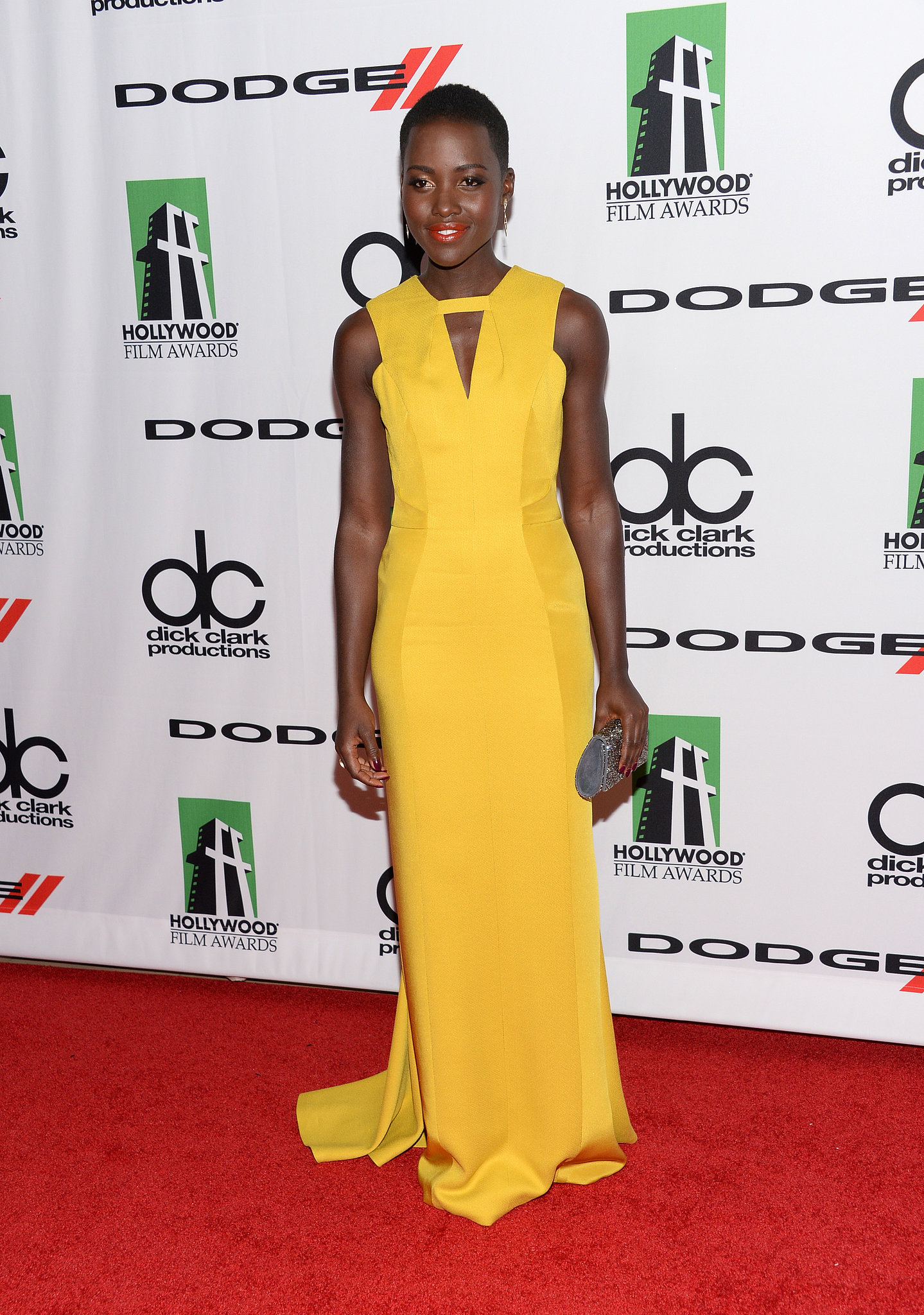 Lupita Nyong'o Yellow Dress
