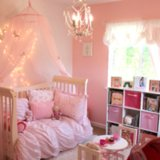 Pink Princess Butterfly Room For Girls