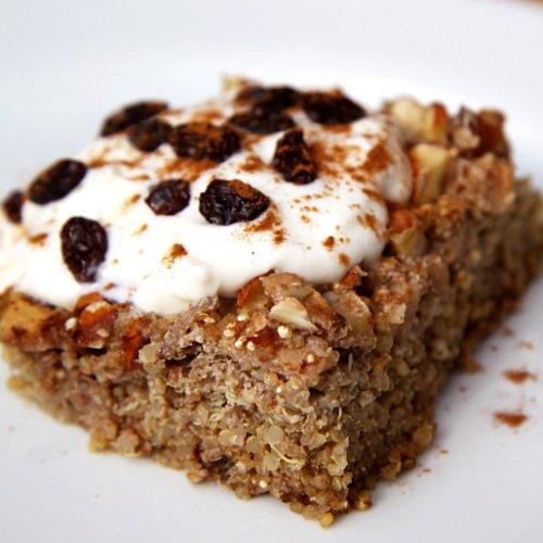 Gluten-Free Breakfast Recipes: Apple Cinnamon Quinoa Bake | POPSUGAR ...