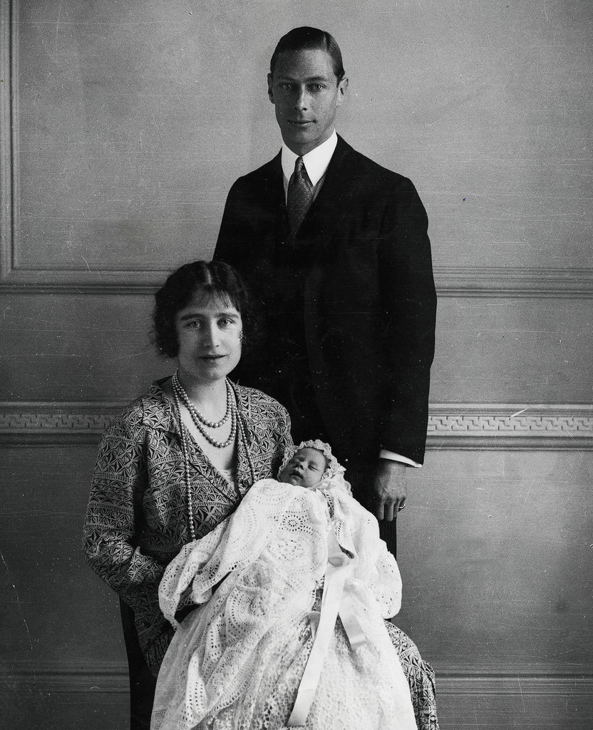 On Jan. 1, 1926, Queen Elizabeth, then Princess Elizabeth, slept in her christening gown. Her parents, King George VI and Queen Elizabeth, the Queen Mother, were simply the Duke and Duchess of York on her christening day.