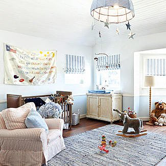 Jessica Simpson's Nursery For Baby Ace
