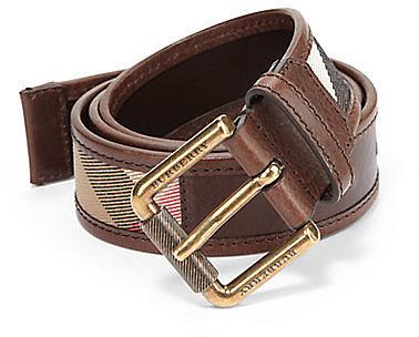 Burberry Graffin Leather Belt