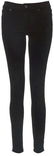 Paige Denim Black Vinyl Verdugo Jeans