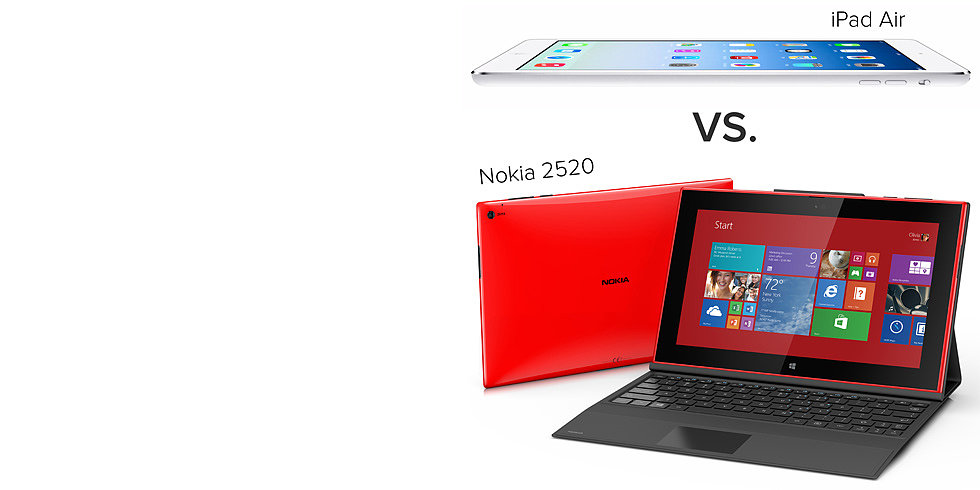 Nokia 2520, the Newest Windows Tablet, Takes on the iPad Air