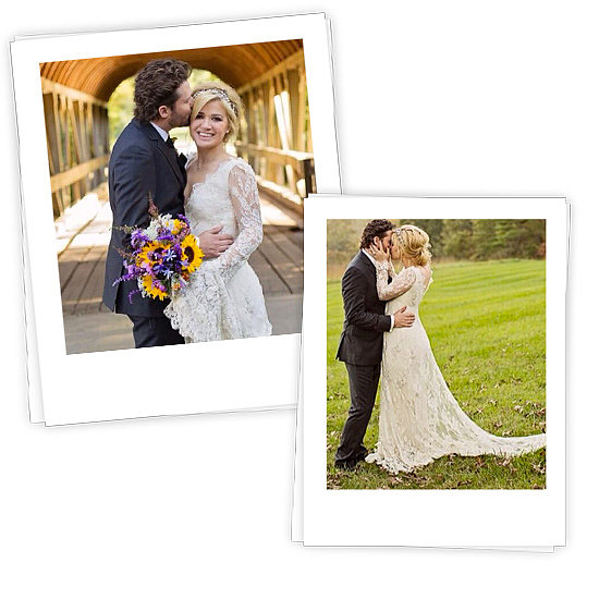Kelly Clarkson Married in Lace! Shop 5 Equally Romantic Looks Here