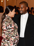 "On May 7, Kanye and Kim made a grand entrance to NYC's Metropolitan Museum of Art for the Costume Institute Benefit. Kim donned a floral Givenchy by Riccardo Tisci gown to make her inaugural appearance at the Met Gala.  Kanye was the live entertainment for the event, and although Kim was scrutinized for her covered-up look, Kanye came to her defense during his performance on stage adding a line into his song directed at Kim singing, ""You're so awesome."""