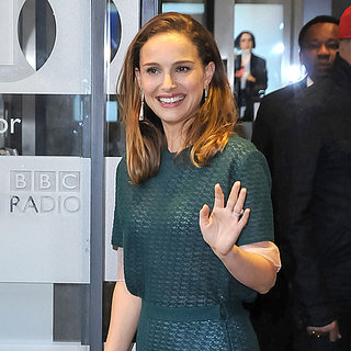 Natalie Portman Promoting Thor 2 in London