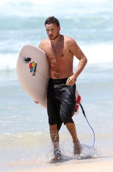 Liam Payne Hits the Waves and Avoids Another Underwear Theft
