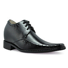 men elevate dress shoes grow taller 8cm / 3.15inch