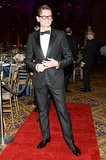 Vogue's Hamish Bowles went for a classic tuxedo.