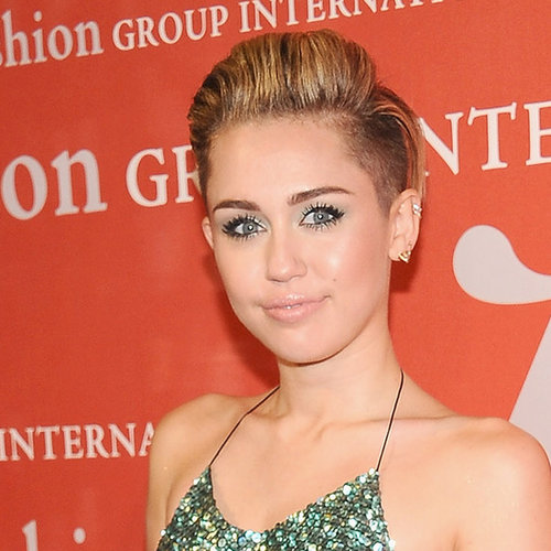 Miley Cyrus Pictures at Night of Stars Event 2013