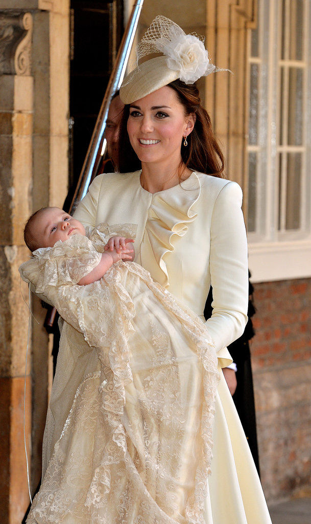 All the Photos From Prince George's Christening