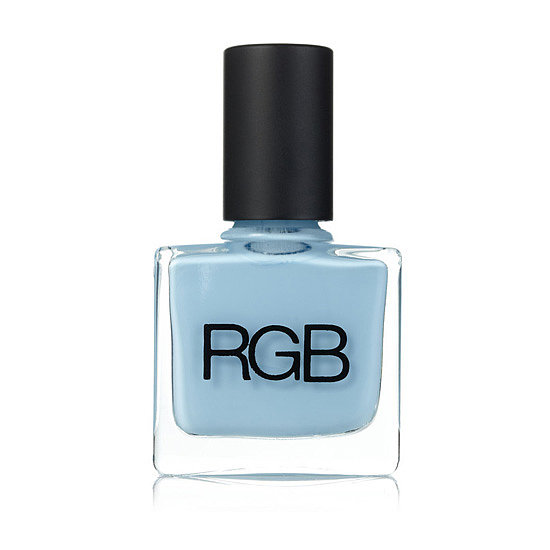 Set off your diamond ring with a pastel blue hue, like RGB Pool ($18). Best of all, it's subtle enough for hands and feet.