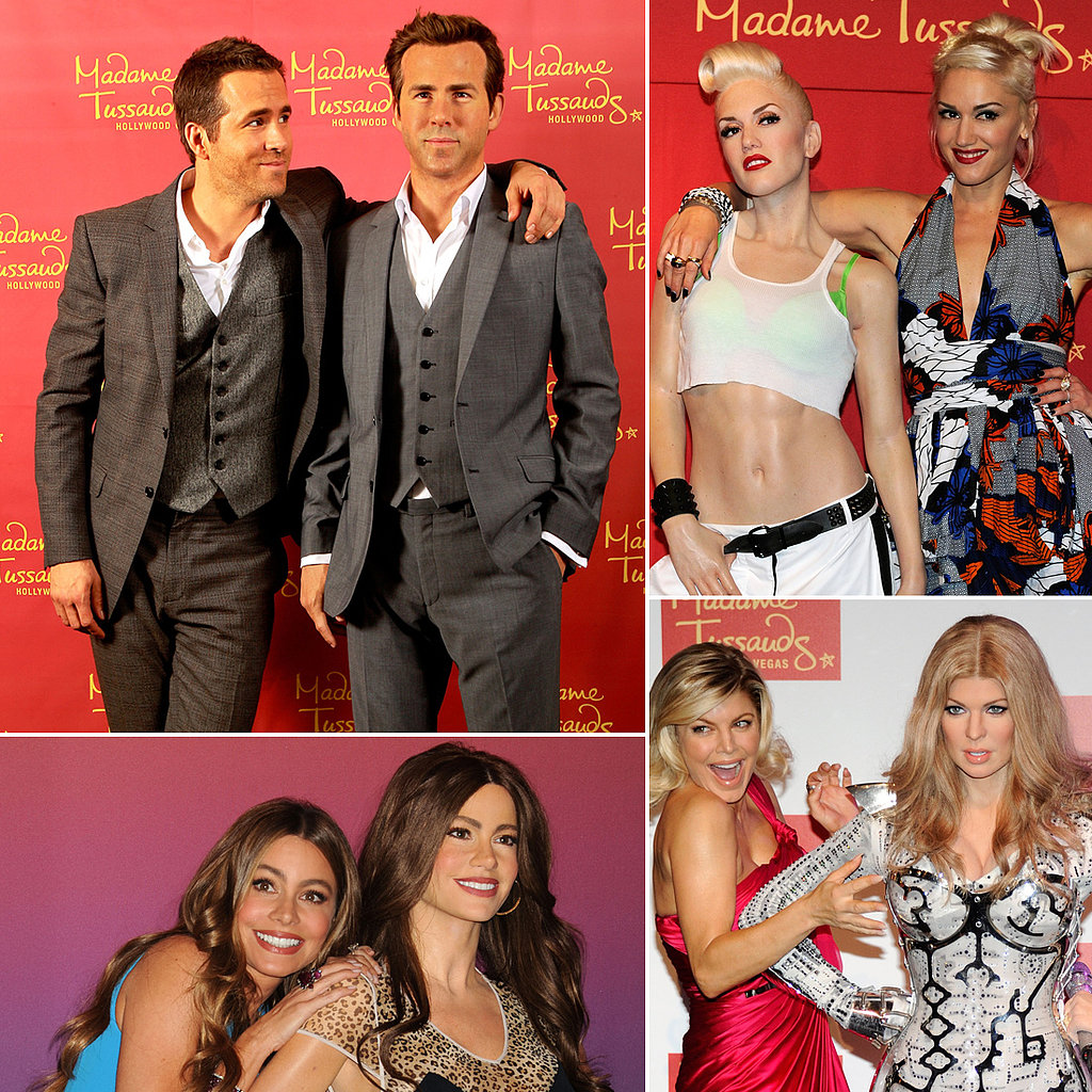 Can You Tell the Celebrity From the Wax Figure?