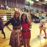 Dalek and Oswin Oswald