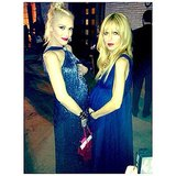 Gwen Stefani and Rachel Zoe stood bump-to-bump while at the Annenberg Gala dinner in October 2013. Source: Instagram user rachelzoe