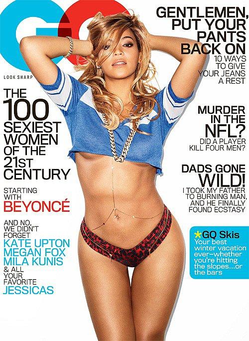 GQ Cover Beyoncé