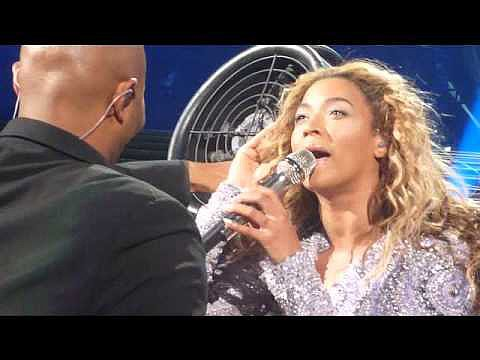 The Fan Incident Beyoncé