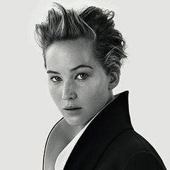 Pictures Of Jennifer Lawrence Makeup Free in Dior Images