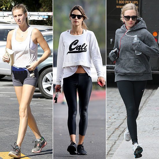 Get Inspired! 7 Celebrities Sweat it Out This Week