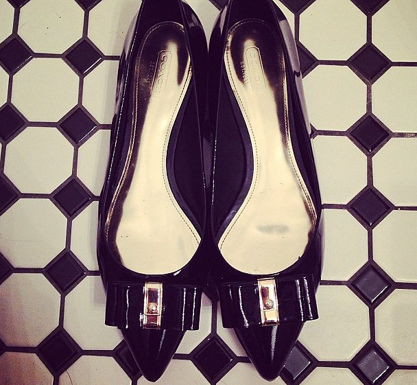 Coach flats are the best flats, don't you think?