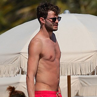 Jamie Dornan Shirtless Vacation Pictures