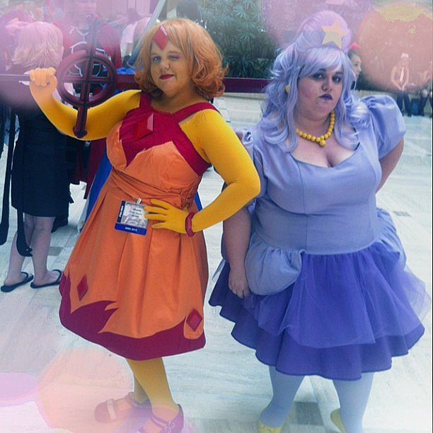 Flame Princess and Lumpy Space Princess