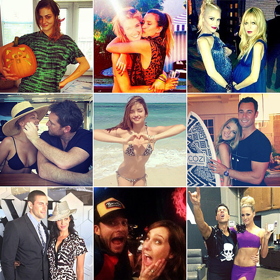 Sexy Couples, Baby Bumps and More of the Week's Cute Celebrity Candids