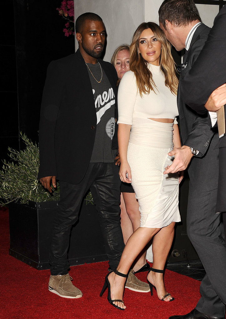 Only Kim Kardashian Wears Stilettos to the Movies