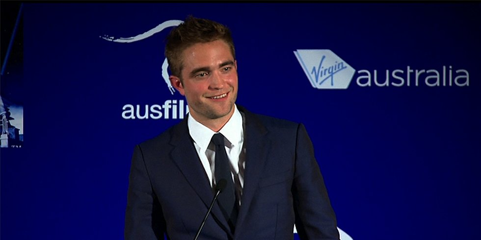 Watch Robert Pattinson's Sweet and Silly Speech