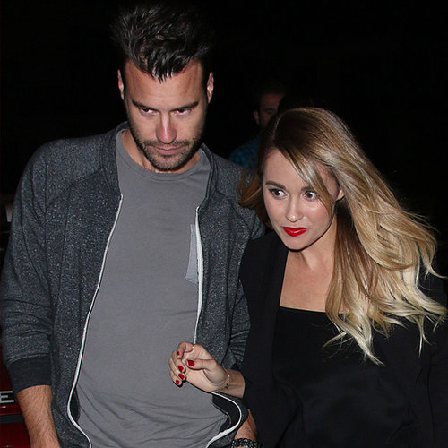 Lauren Conrad and William Tell at Dinner in LA