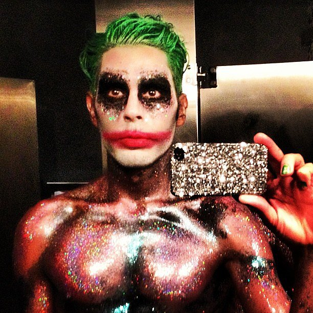 Makeup artist Joey Malouf showed off his incredibly impressive Halloween costume. Source: Instagram user joeymaalouf