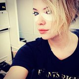 Ashley Benson gave herself an eye lift.  Source: Instagram user itsashbenzo
