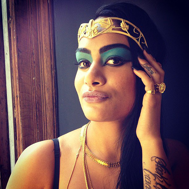 We're still crazy for the Cleopatra makeup tutorial we put together with MAC Cosmetics! Source: Instagram user popsugarbeauty