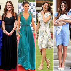 Recap Kate Middleton's best looks by Jenny Packham