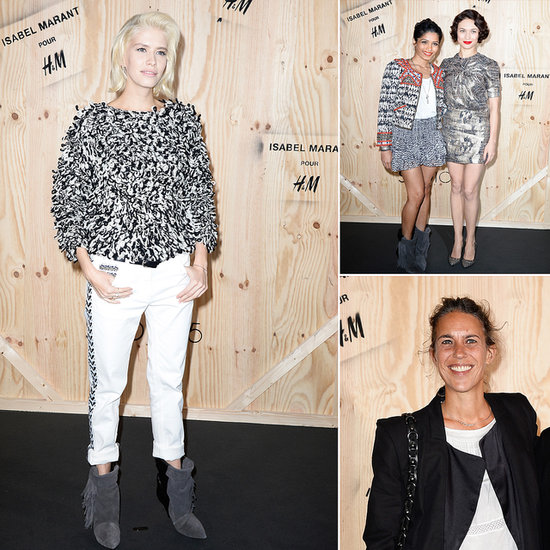 Parisian Fashion Elite Launch Isabel Marant x H&M