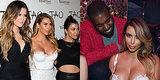 Kim Kardashian Celebrates 33 in Bridal White