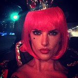 The Queen of Hearts Alessandra Ambrosio shared a close-up of her Queen of Hearts costume. Source: Instagram user alessandraambrosio