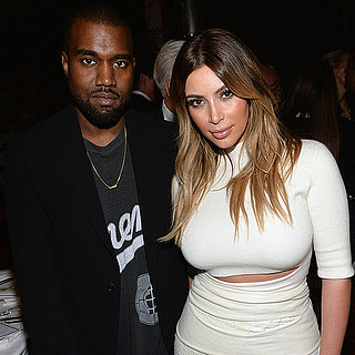 Kim Kardashian And Kanye West Engagement Ring At Event