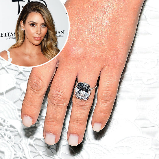 love it or leave it kims white engagement ring manicure