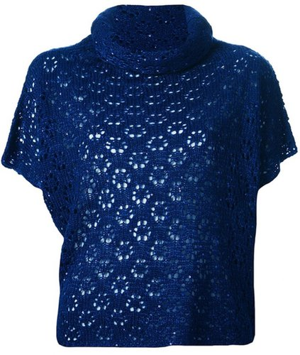 Kristina Ti short sleeve knit sweater