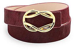 Signature Calf Hair Belt Strap